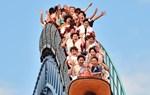 Japans Vergnügungsparks verbieten wegen Corona Kreischen auf Achterbahn