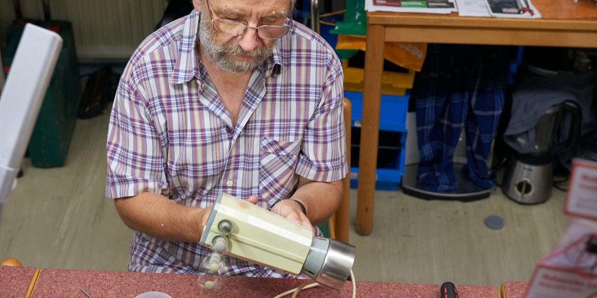 Reparaturwerkstätten: Ewiges Leben aus alten Schachteln