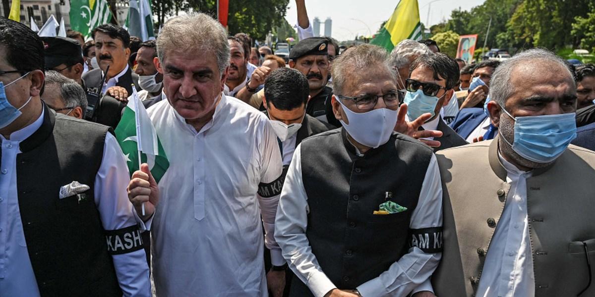 Pakistaner protestieren gegen Indiens Kaschmir-Politik