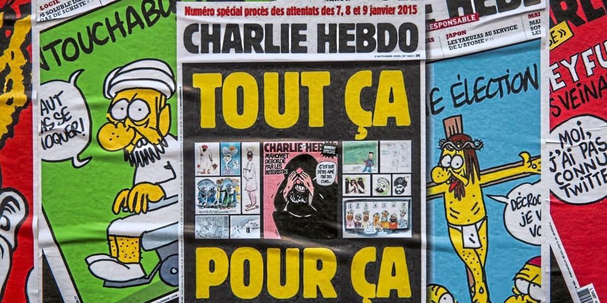 Karikaturen Von Charlie Hebdo