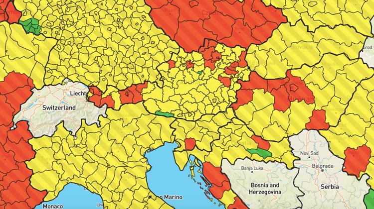Corona Zahlen Europa Karte
