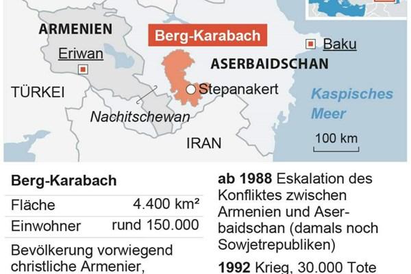 Aserbaidschan Und Armenien Rufen Wegen Bergkarabach Kriegsrecht Aus Aserbaidschan Derstandard At International
