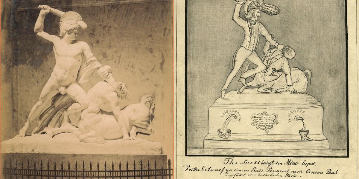 Drei Denkmäler für Eduard Suess, die keiner kennt
