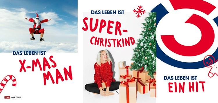 Das Leben Ist Super Christkind Weihnachtskampagne Von Jung Von Matt Donau Fur O3 Werbung Derstandard At Etat