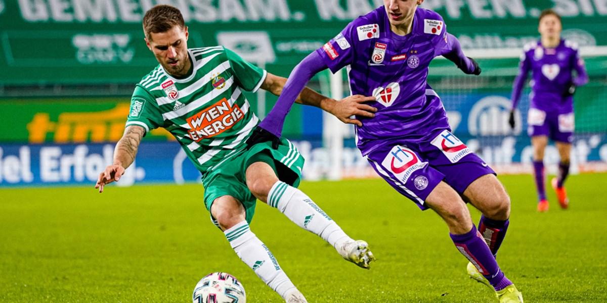 Rapid und Austria spielen 1:1: Ein Remis bei der Premiere