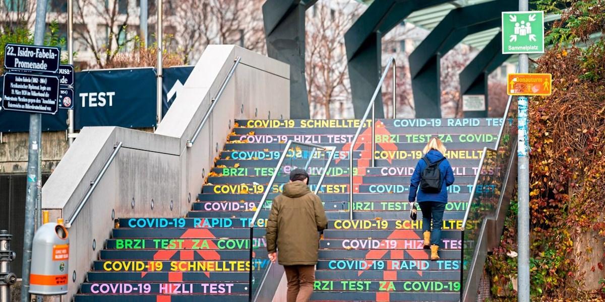Erste Antigen Schnelltest Strasse Wiens Eroffnet Wien Derstandard At Panorama