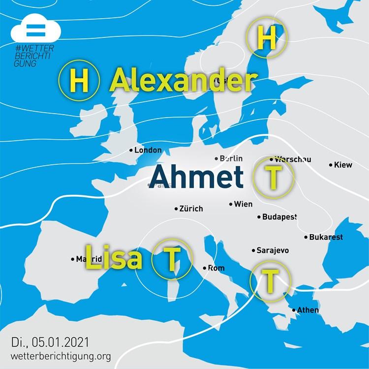 Tief Ahmet und Hoch Dragica: Das Wetter wird divers - Medien -  derStandard.de › Kultur