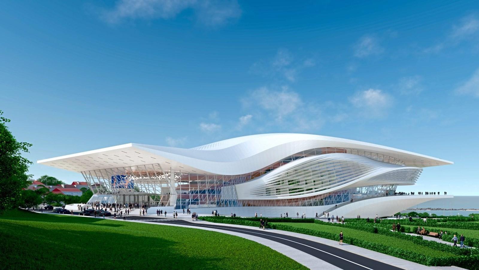 Ein neues Opernhaus auf der Krim