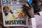 Langzeit-Präsident Museveni erklärt sich zum Wahlsieger in Uganda