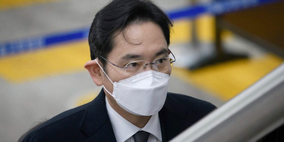 Samsung-Erbe Lee kehrte nach Verurteilung ins Gefängnis zurück