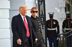 """Trumps Abschiedsrede: """"Auf Wiedersehen! Wir lieben euch! Wir kommen in irgendeiner Art zurück!"""""""