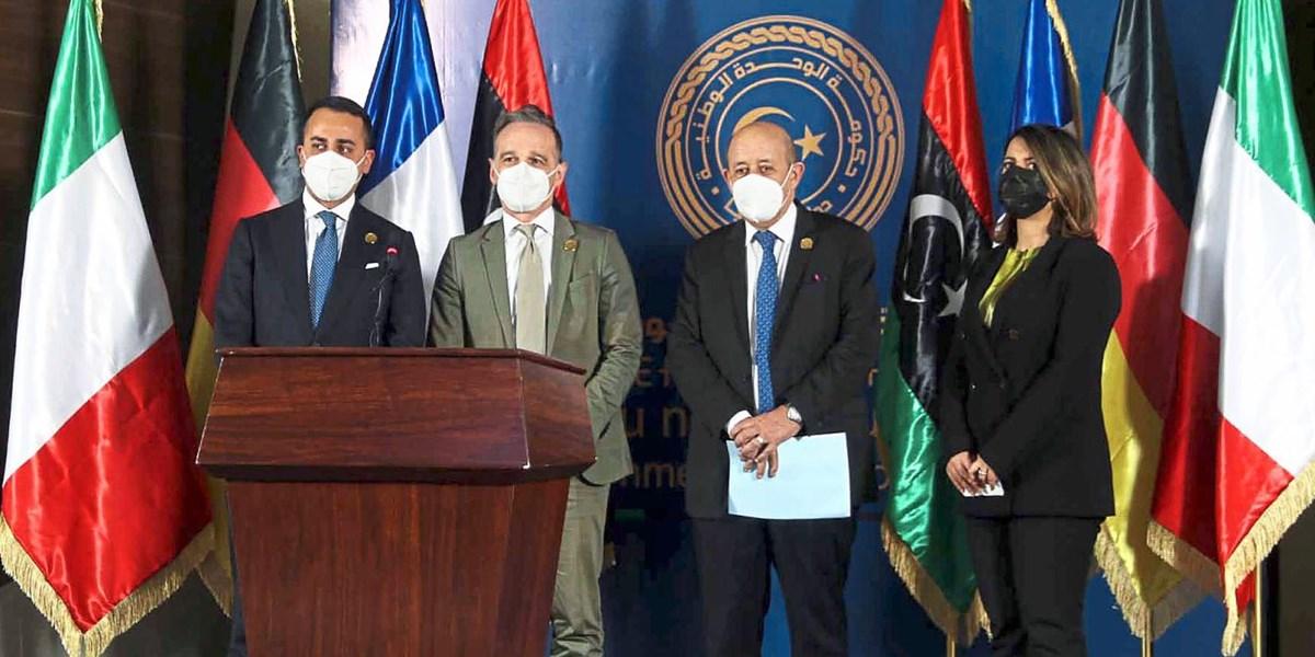 Überraschungsbesuch aus Berlin, Paris und Rom bei Libyens Übergangsregierung