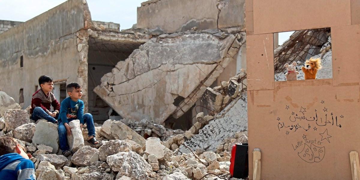 Syrien verübte 2018 in Saraqib Chlorgasangriff