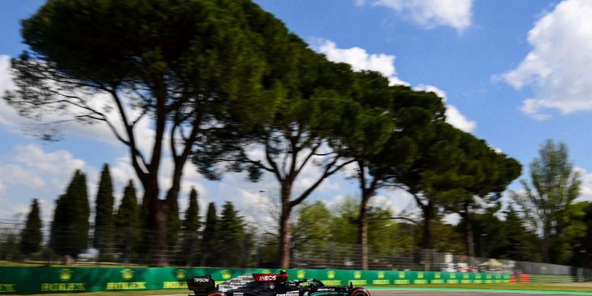 Bottas mit erster Imola-Bestzeit – Hamilton vor Verstappen