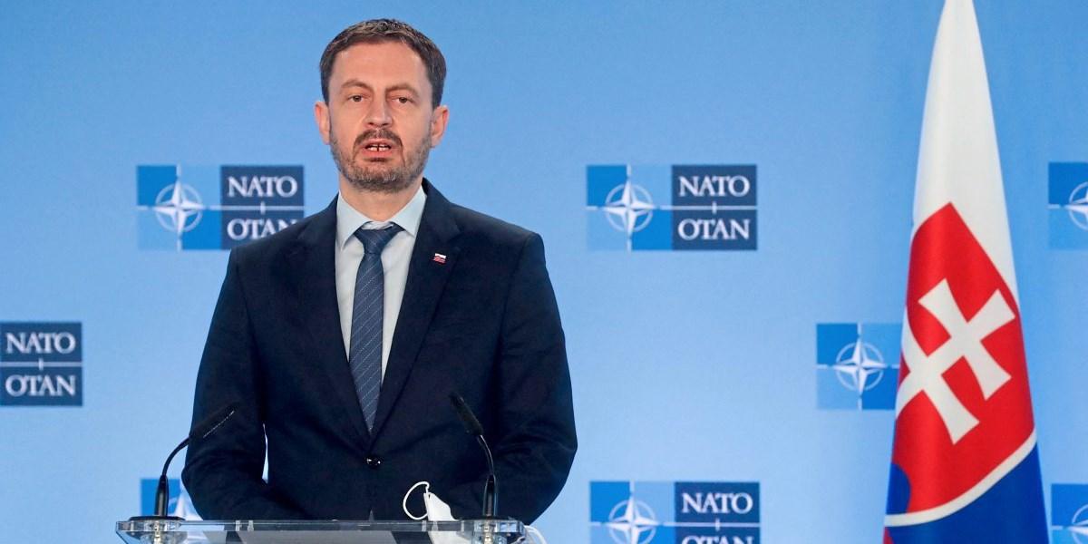 Neuer slowakischer Premier Heger besucht Wien