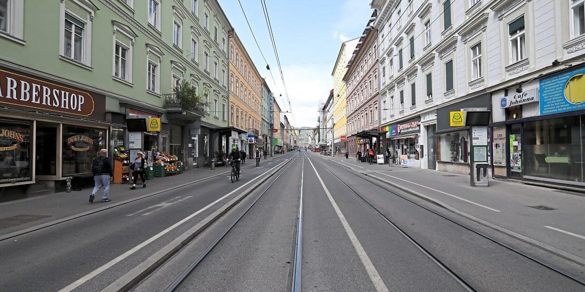 Leerstand und Verkehrsprobleme: Sinnsuche auf der Grazer Annenstraße