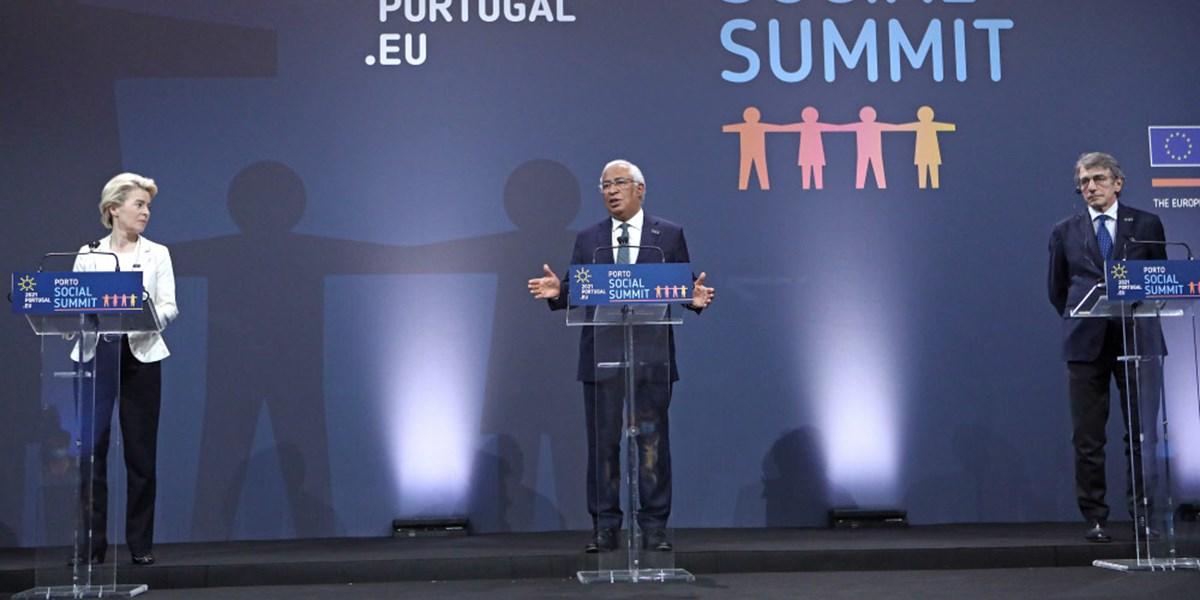 EU-Gipfel in Porto verpflichtete sich auf konkrete Sozialziele