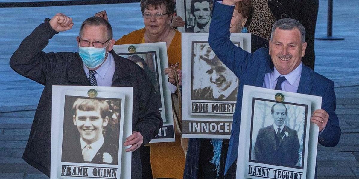 Britische Soldaten erschossen 1971 in Nordirland elf Unschuldige