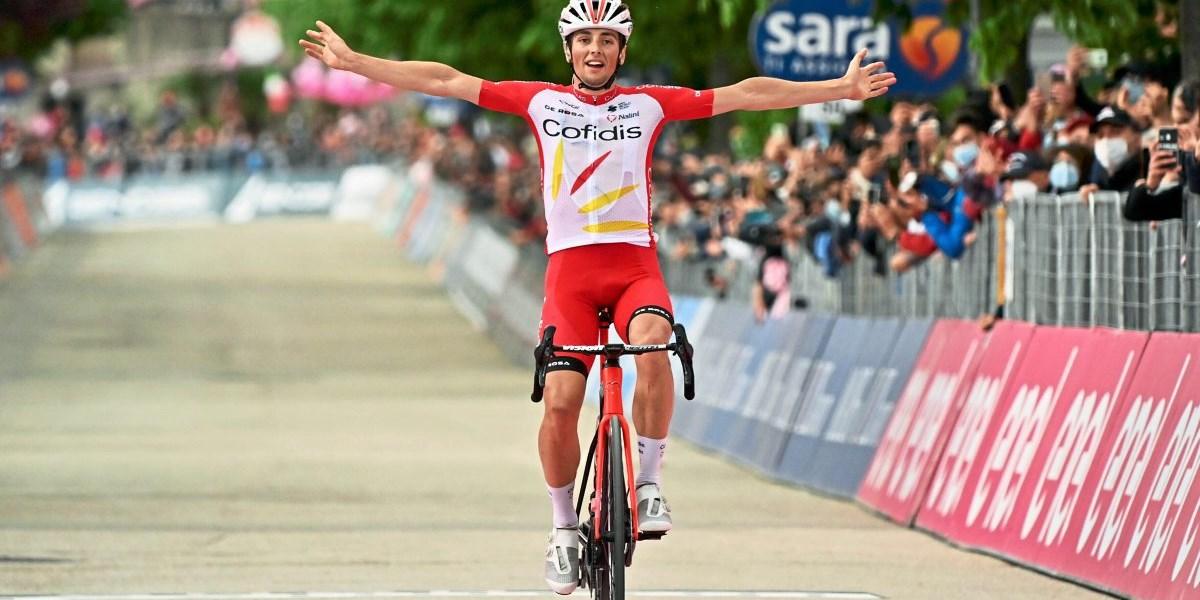 Franzose Lafay gewinnt die achte Giro-Etappe – Aus für Top-Sprinter Ewan