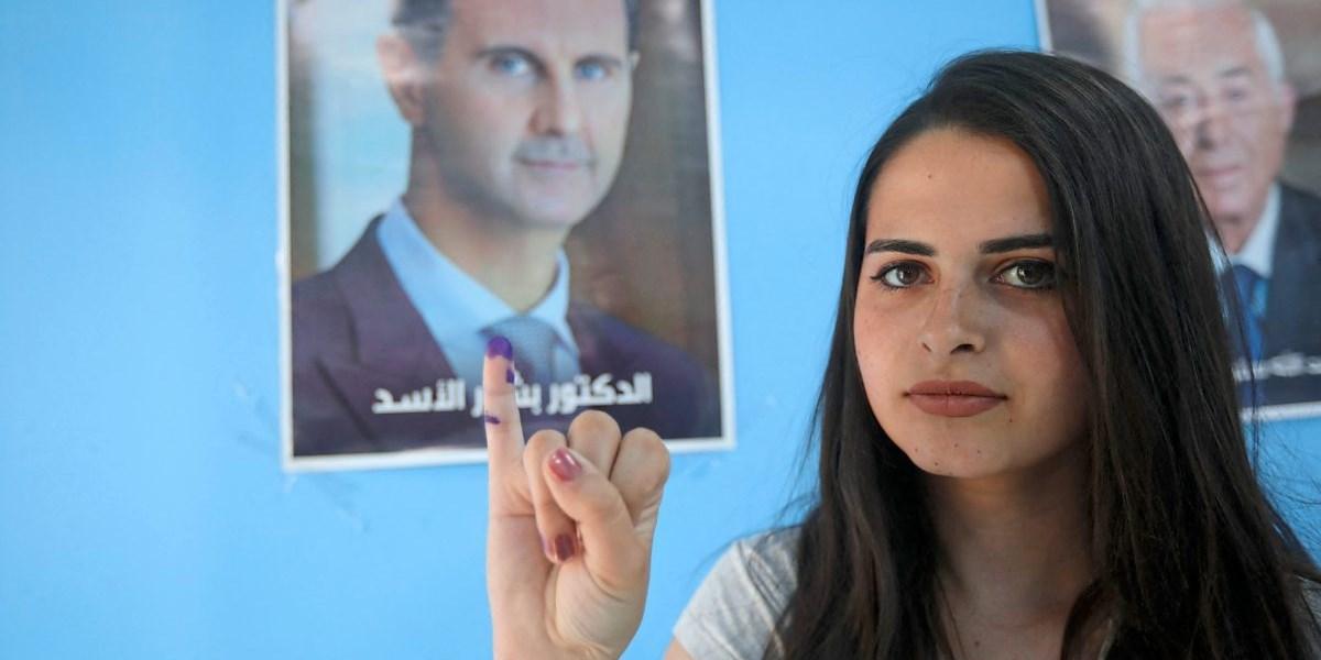 Syrien wählt, die Opposition spricht von einer Farce