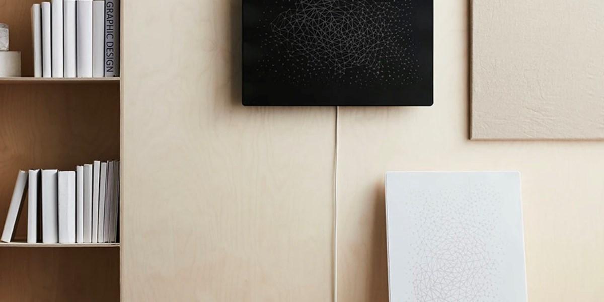 Sonos und Ikea präsentieren Symfonisk-Lautsprecher im Bilderrahmen-Look