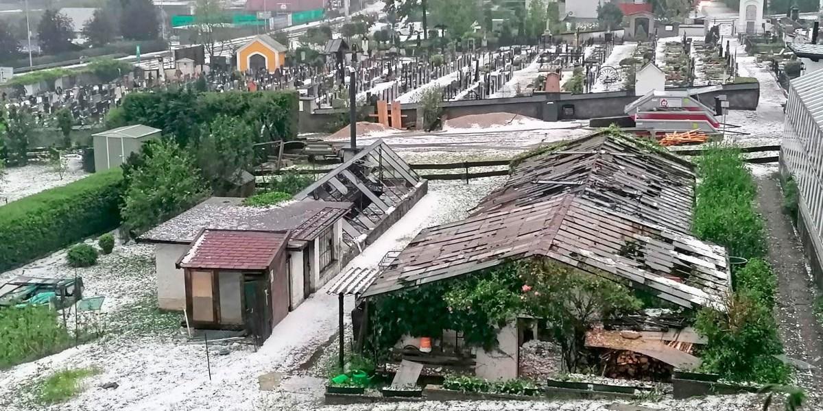 Schwere Unwetter sorgen in Oberösterreich und Salzburg für Rekordschäden