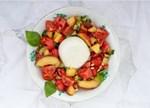 Insalata Anguria: Sommersalat mit Wassermelone und Mozzarella
