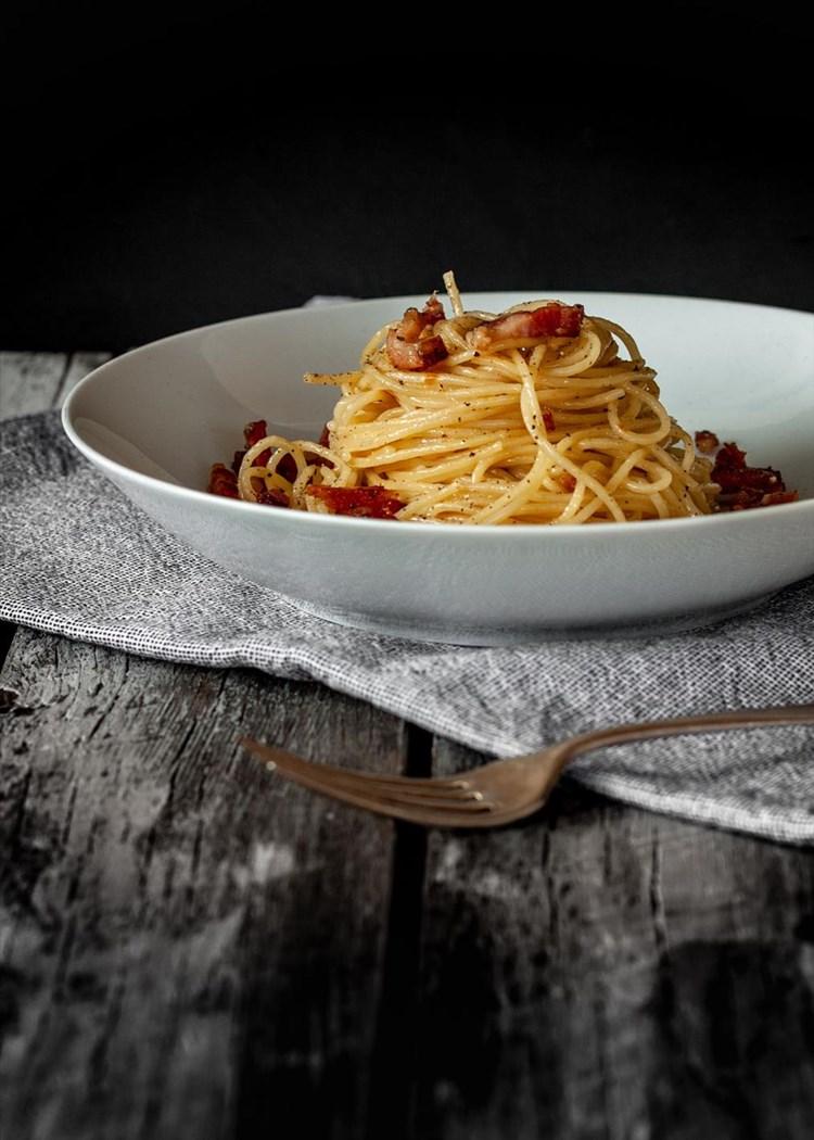 Spaghetti alla gricia: Rustikale Pasta