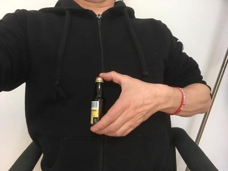 flasche am nachsten an der brust