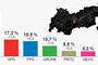 Infografik - Alle Gemeindeergebnisse der Tiroler Landtagswahl