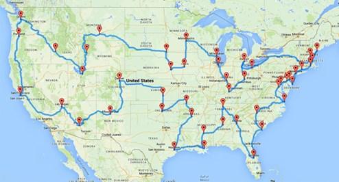 Ausgerechnet Der Optimale Usa Roadtrip Reisetipps