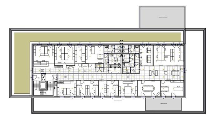2340 Mödling, Kalterer Gasse 5 Plan 2OG Gestaltungsvorschlag