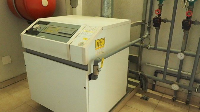 Moderner Gasbrenner
