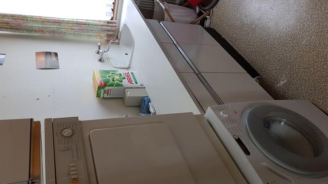 Waschküche, in der Wohnung