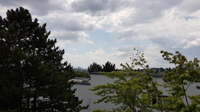 Ausblick vom Wohnzimmwe, Südost