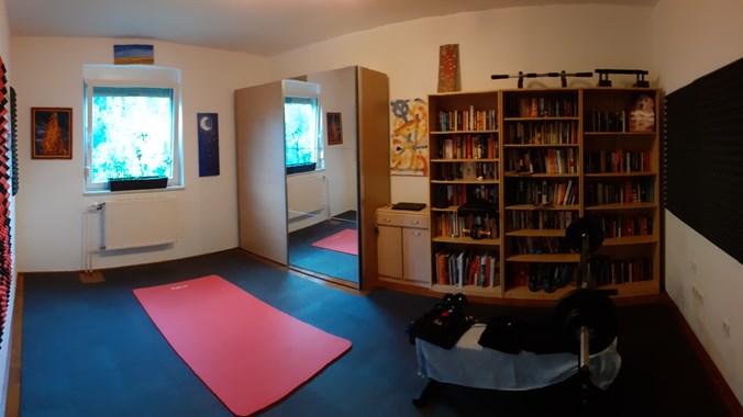 Das 17m² Zimmer. Wird natürlich geräumt übergeben.