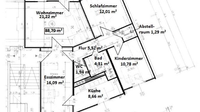 Plan - Grundriss