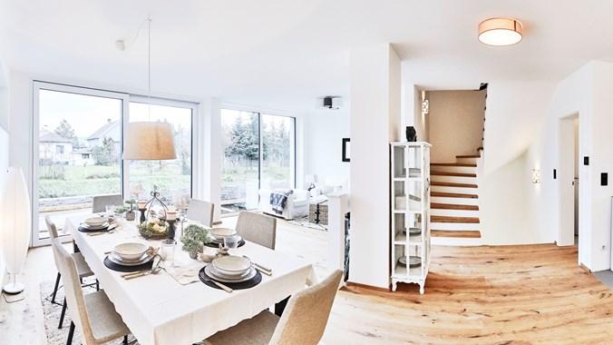 Wohnküche Musterhaus