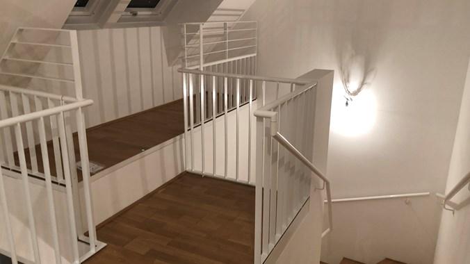 Obere Etage - Blick zur Treppe