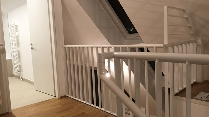 Obere Etage - Blick zum Bad